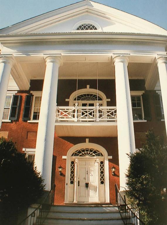 Architecture of Jefferson Country Charlottesville and