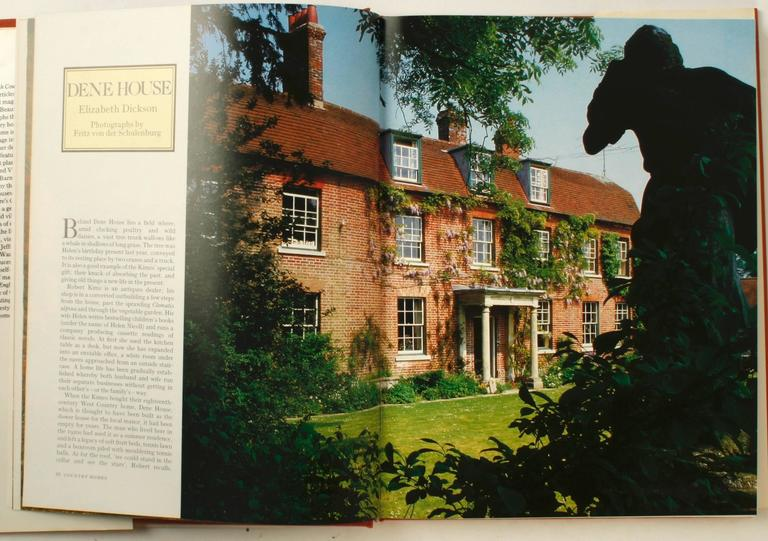 20th Century The English Country House, First Edition by Venessa Berridge For Sale