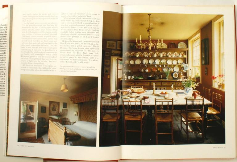 Paper The English Country House, First Edition by Venessa Berridge For Sale