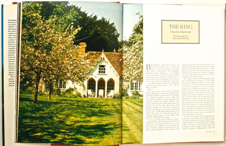 The English Country House, First Edition by Venessa Berridge For Sale 1