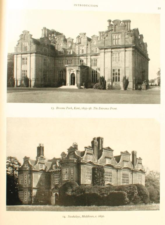 20th Century English Country Houses Caroline 1625-1685, First Edition For Sale