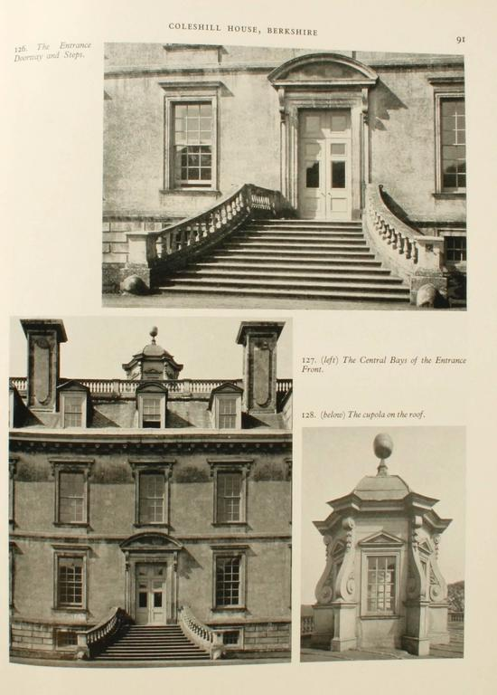 English Country Houses Caroline 1625-1685, First Edition For Sale 2