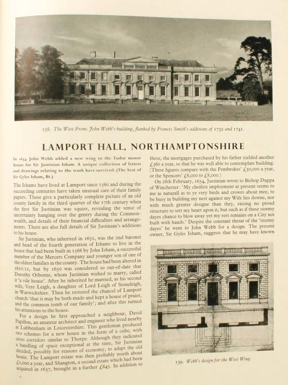 English Country Houses Caroline 1625-1685, First Edition For Sale 3