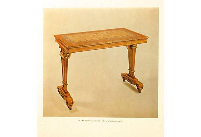 English Regency Furniture 1795-1820 by Margaret Jourdain, 1st Ed For Sale