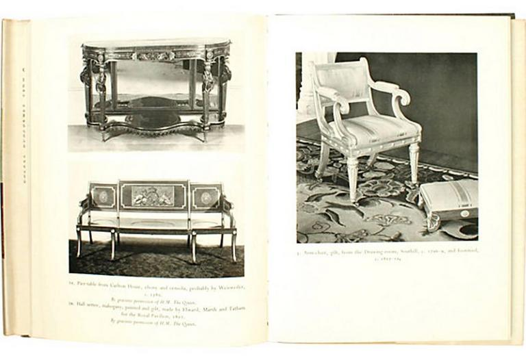 Regency Furniture 1795-1820 by Margaret Jourdain, 1st Ed In Good Condition For Sale In valatie, NY