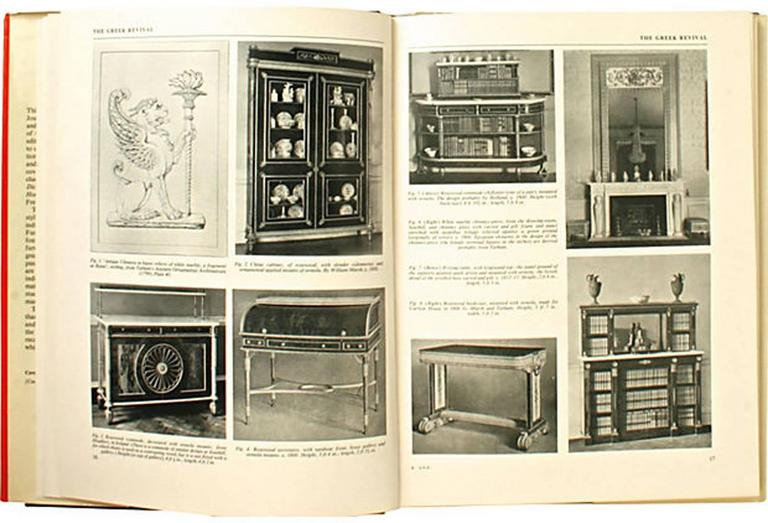 20th Century Regency Furniture 1795-1820 by Margaret Jourdain, 1st Ed For Sale