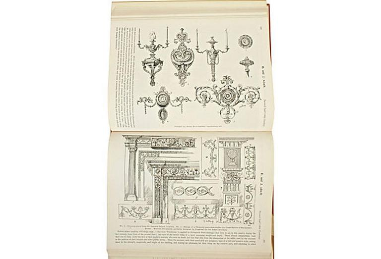 English Furniture Decoration and Allied Arts by Thomas Strange, 1st Ed For Sale 1