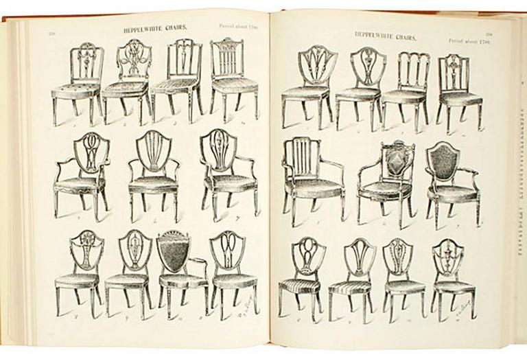 English Furniture Decoration and Allied Arts by Thomas Strange, 1st Ed In Good Condition For Sale In valatie, NY