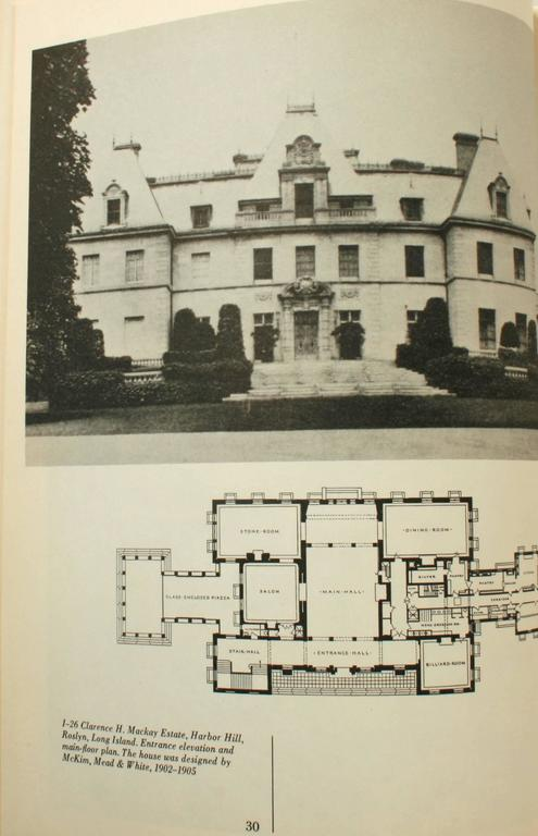 Beaux-Arts Estates, A Guide to the Architecture of Long Island, First Edition In Good Condition For Sale In valatie, NY