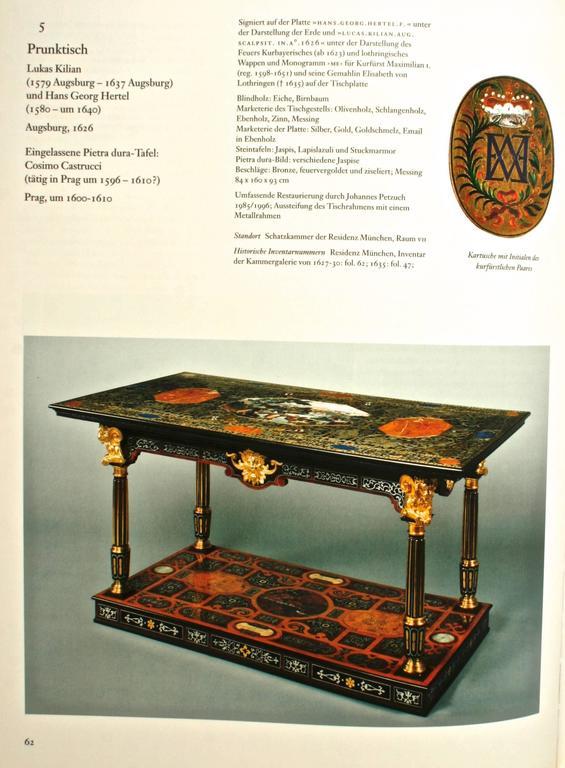 Die Möbel Der Residenz München, First Edition For Sale 1