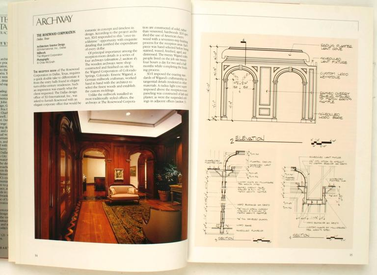 Architectural Detailing In Contract Interiors By Wendy W. Staebler.  Watson Guptill, 1993