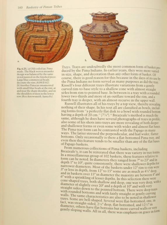 American Indian Baskets of the Southwest by Clara Lee Tanner, First Edition For Sale
