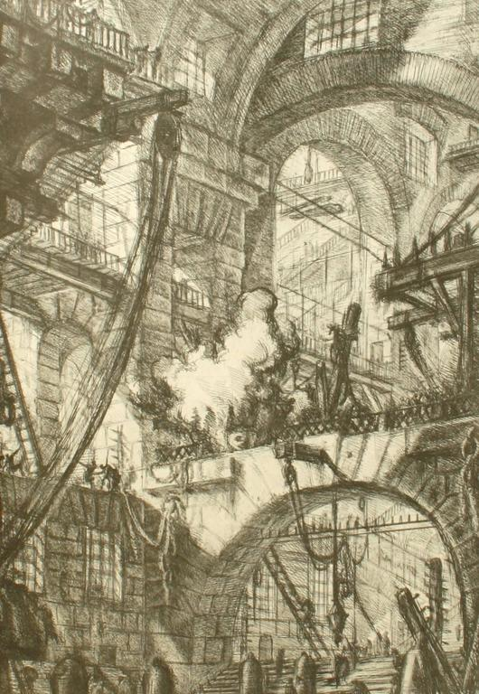 Piranesi, Early Architectural Fantasies by Andrew Robinson In Good Condition For Sale In valatie, NY