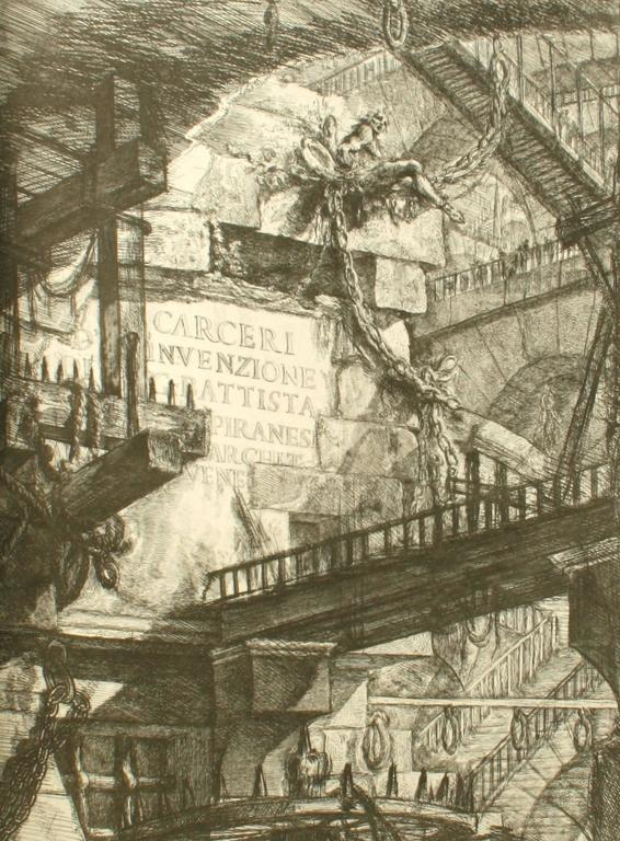 Late 20th Century Piranesi, Early Architectural Fantasies by Andrew Robinson For Sale