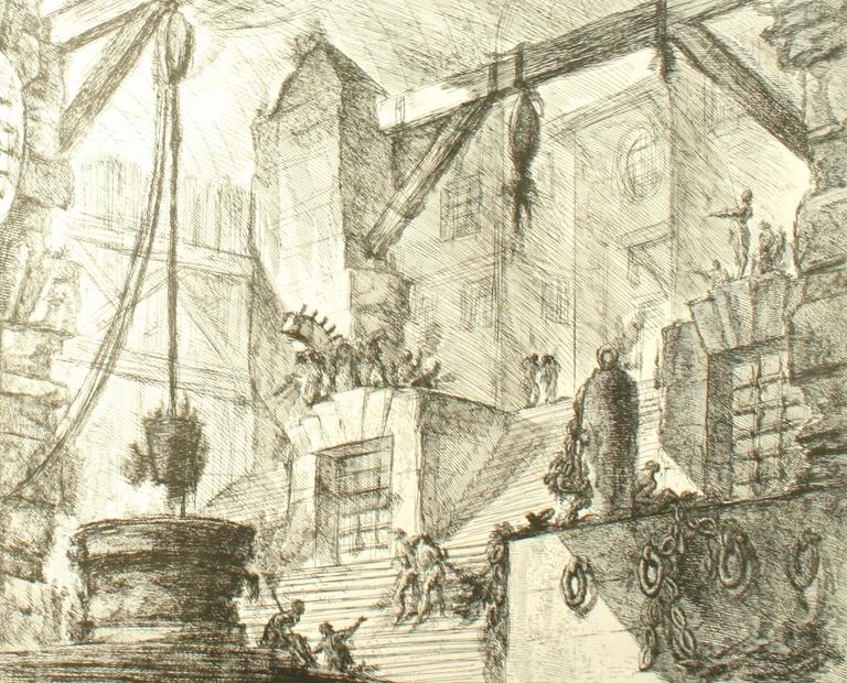 Piranesi, Early Architectural Fantasies by Andrew Robinson For Sale 1