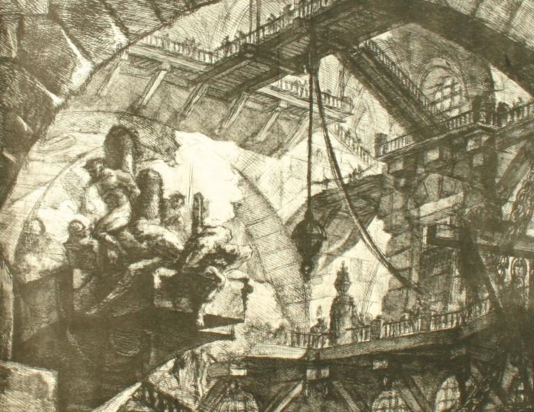 Piranesi, Early Architectural Fantasies by Andrew Robinson For Sale 2