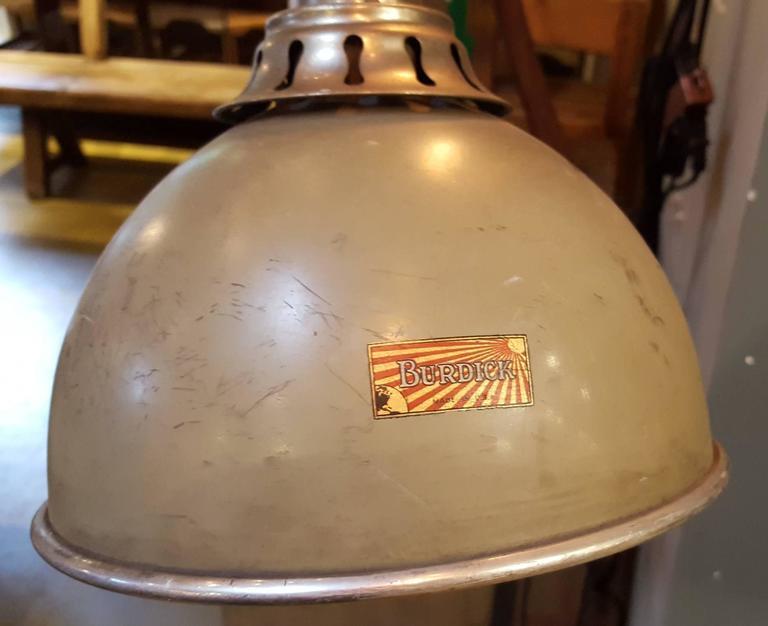Vintage Zoalite Z 10 Industrial Heat Lamp At 1stdibs