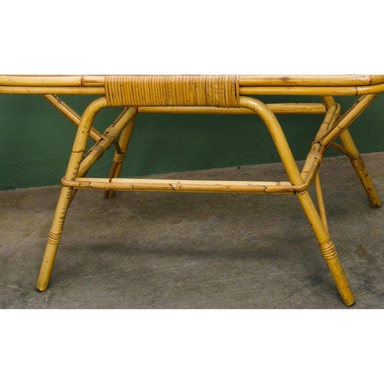 Bamboo Tortoise Coffee Table