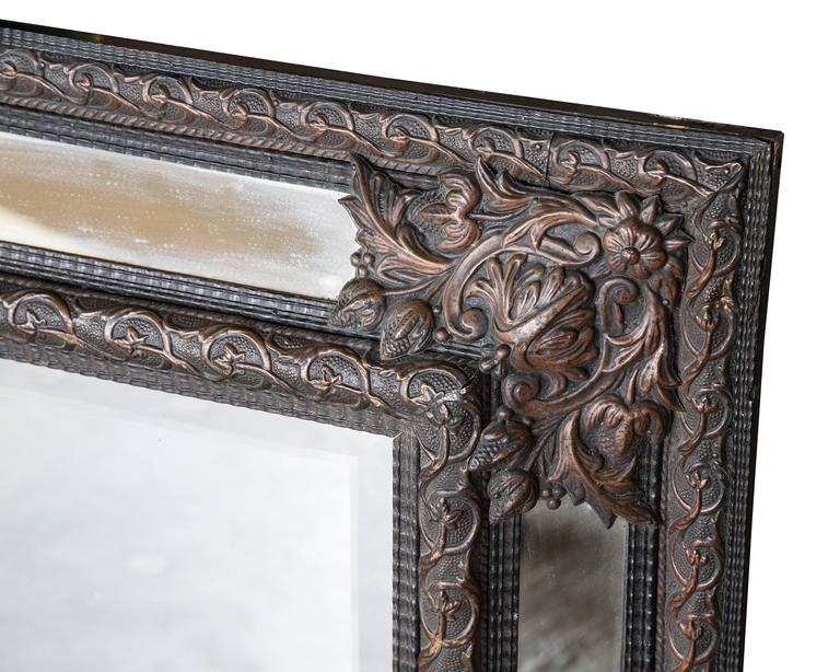 19th Century French Cushion Mirror 2