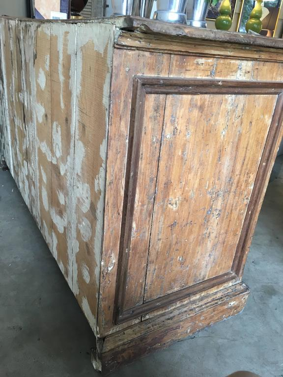 18th Century and Earlier 18th Century Tuscan Two-Door Buffet For Sale