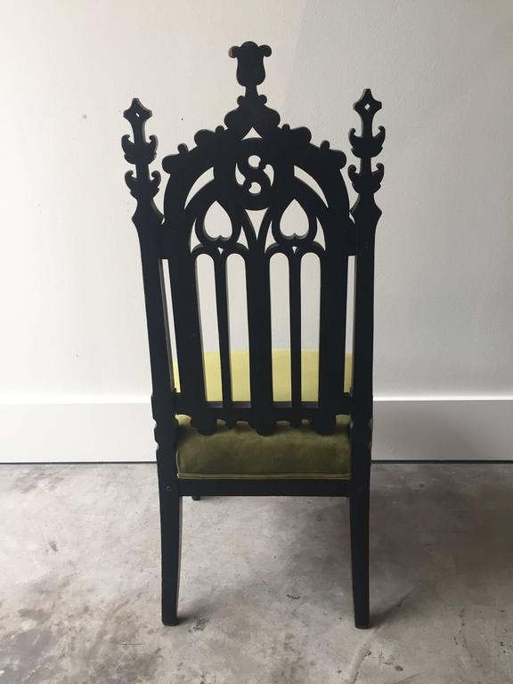 19th Century Gothic Revival Chair 6