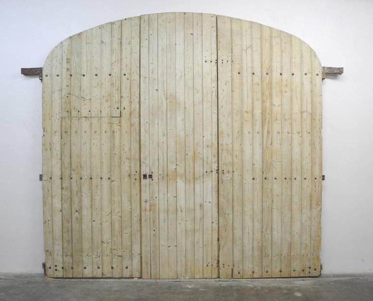 Large 19th Century Wooden Gates from France 2
