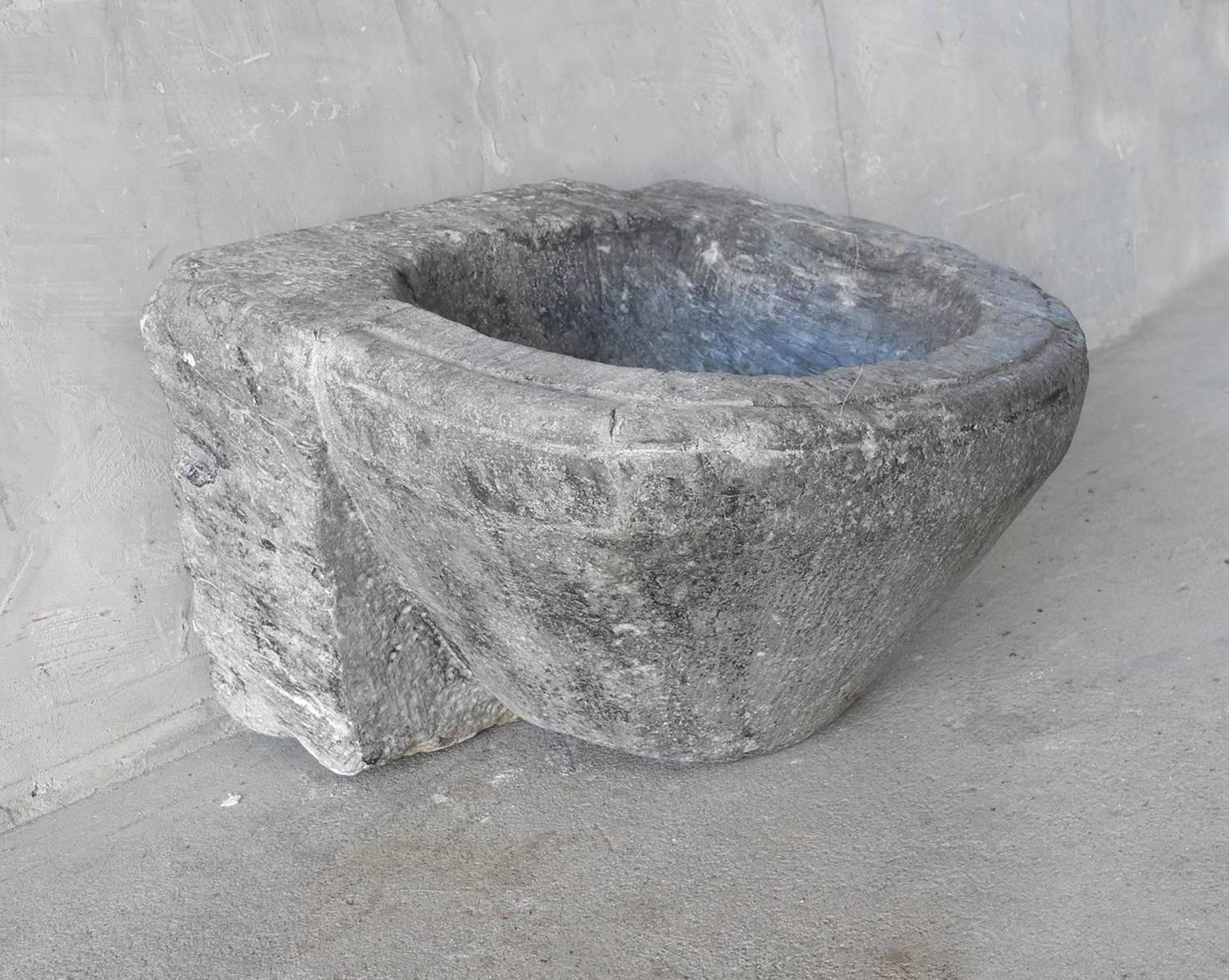 Small antique medieval sink for sale at 1stdibs for Antique stone sinks for sale