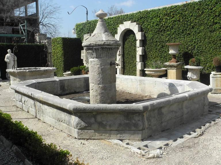 18th Century Village Fountain from Taulignan, France 2