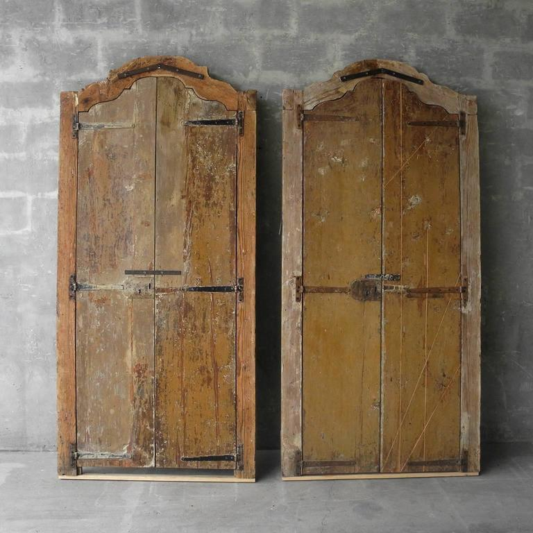 Two Pair of 18th Century Spanish Doors with Frames 2