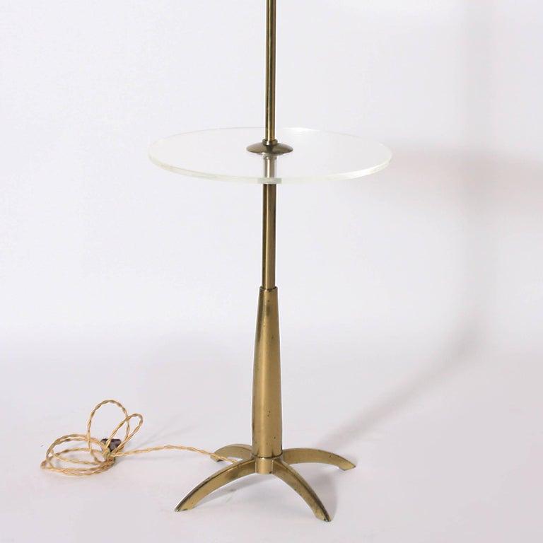 stiffel floor lamps. Brass And Lucite Stiffel Floor Lamp, Circa 1960. Lamps