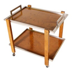 Italian Bar Cart by Willy Rizzo, circa 1970