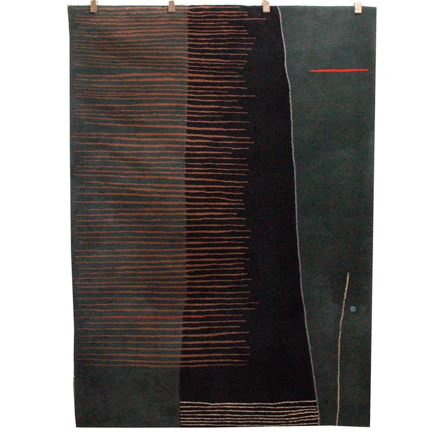Meinecke Collection Wool Rug For Herman Miller At 1stdibs