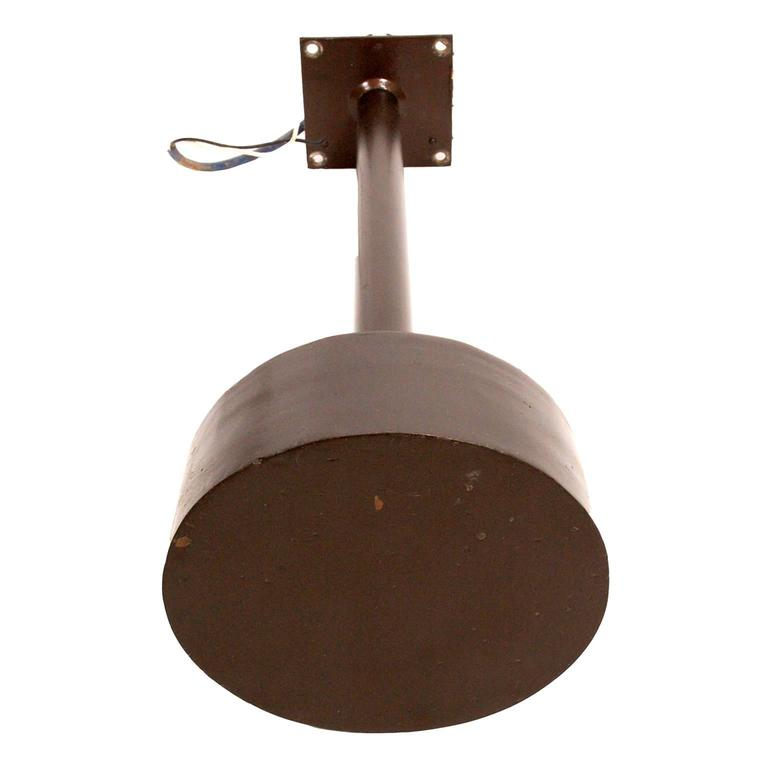 American Modern Rare Outdoor Lighting by Philip Johnson, 1961 For Sale