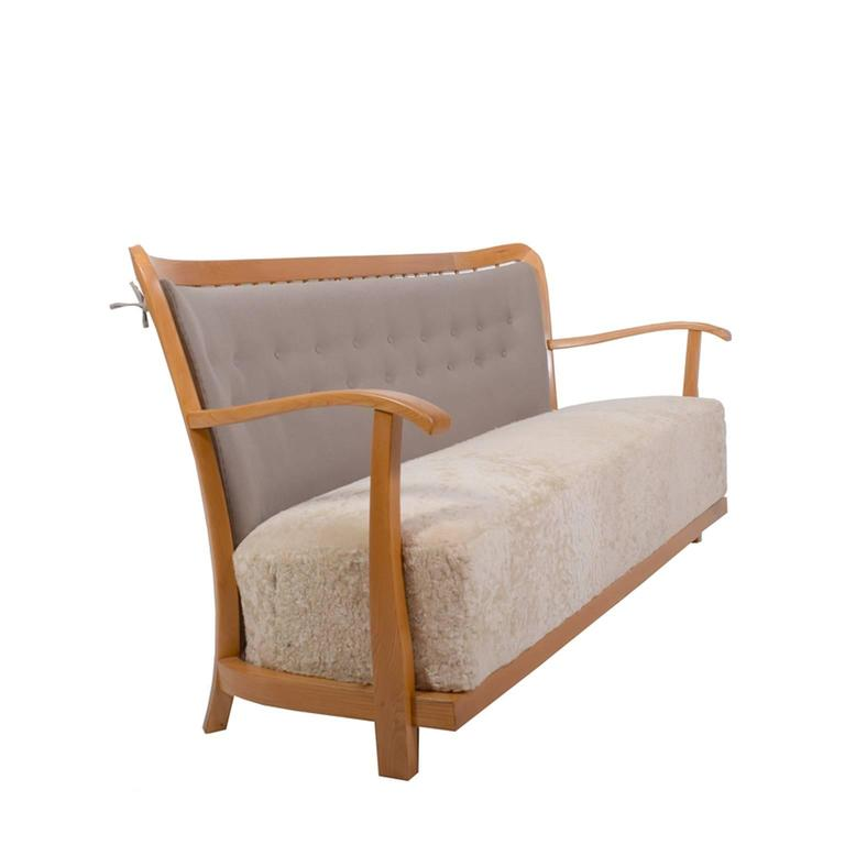 Early Fritz Hansen Sofa 1940's 4