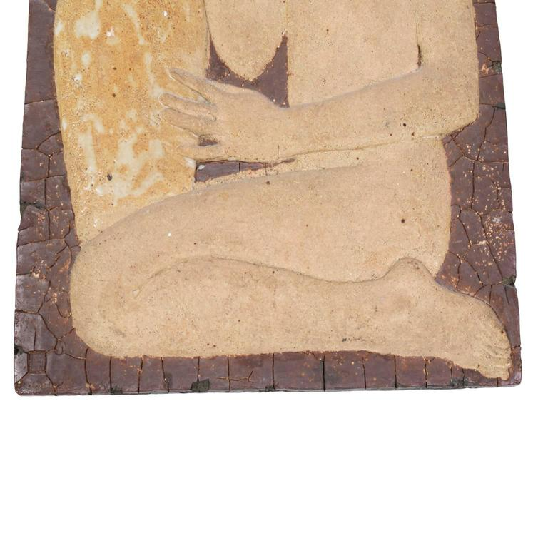 Early Wall Relief by Michael Schilkin for Arabia, 1938 In Good Condition For Sale In Dallas, TX