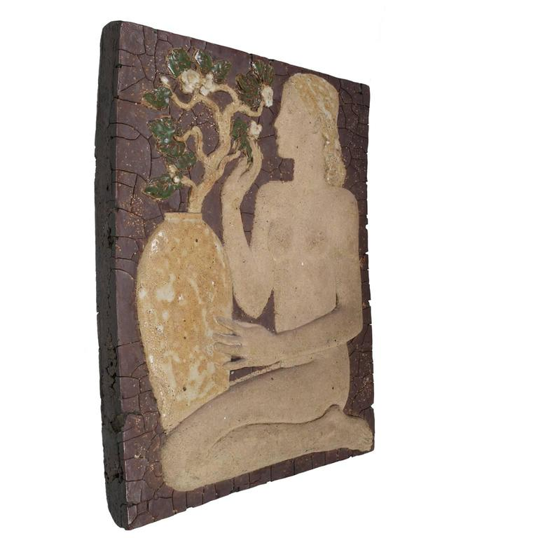 Finnish Early Wall Relief by Michael Schilkin for Arabia, 1938 For Sale