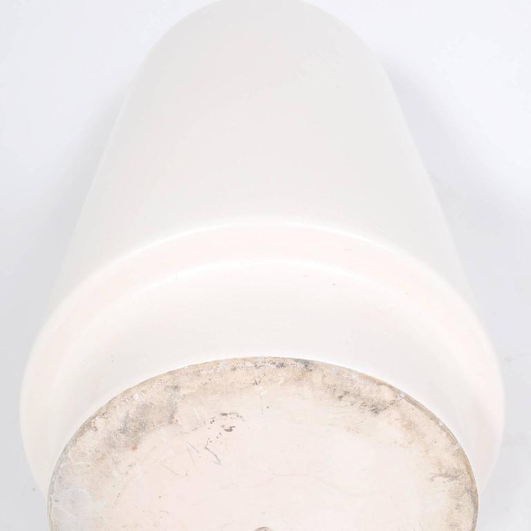 Monumental Ceramic Floor Vase In Excellent Condition For Sale In Dallas, TX