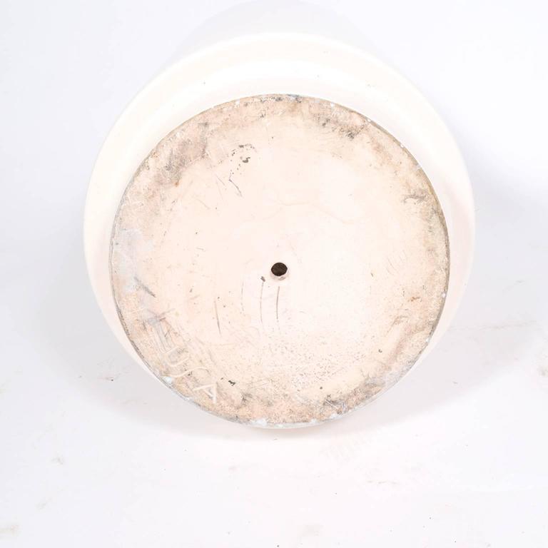 Late 20th Century Monumental Ceramic Floor Vase For Sale