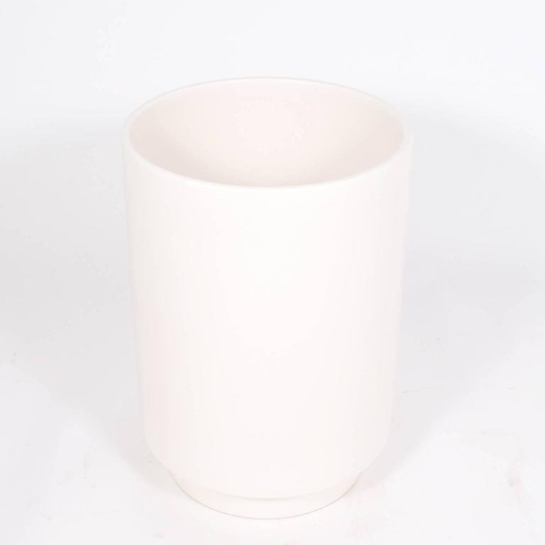 Modern Monumental Ceramic Floor Vase For Sale