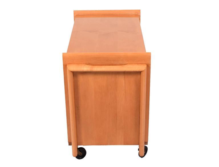 Tea Cart by John Keal for Brown Saltman 3