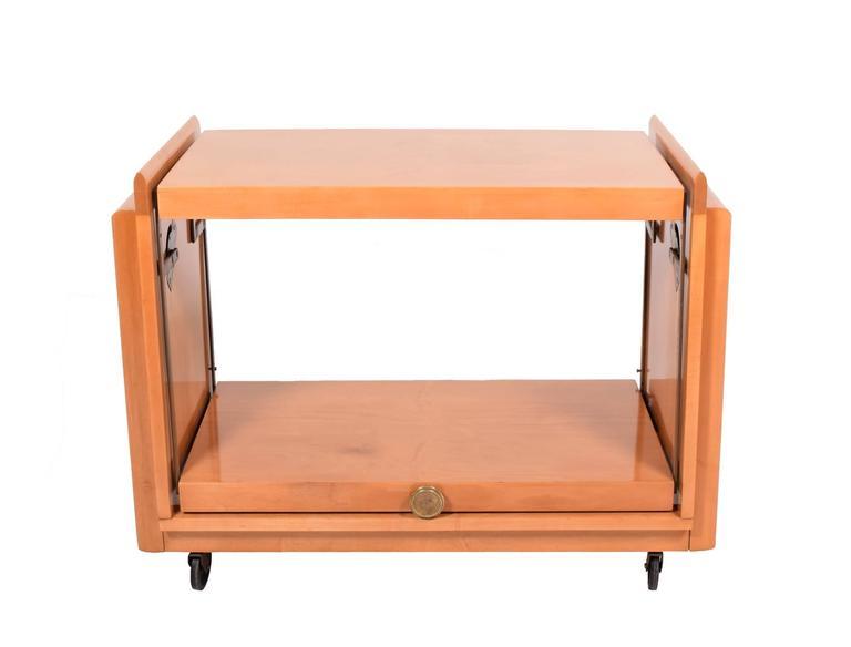 Tea Cart by John Keal for Brown Saltman 2