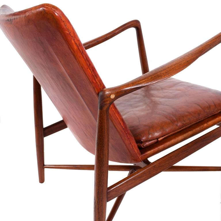Pair of Finn Juhl Chairs for Bovirke, 1946 For Sale 2