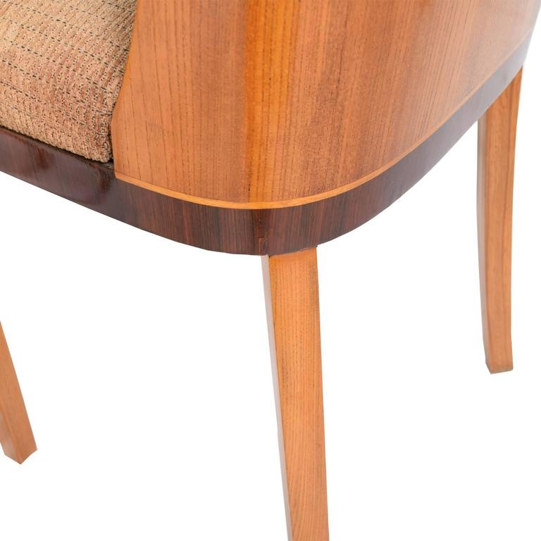 This four wishbone chairs by hans wegner is no longer available - Important And Rare Chairs By Otto Schulz For Boet 1920s