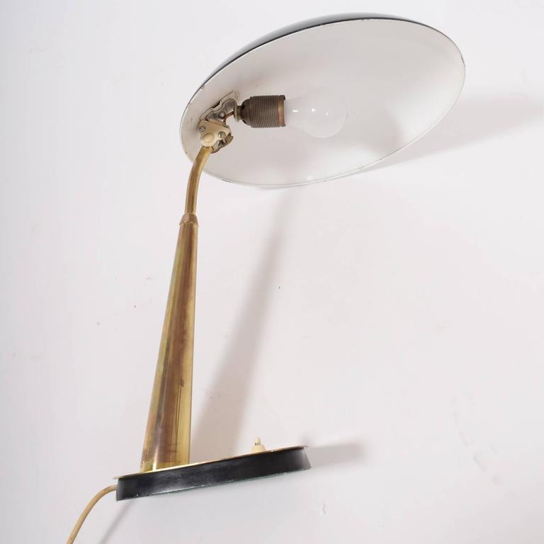 Christian Dell Table Lamp for Kaiser, 1930s 4