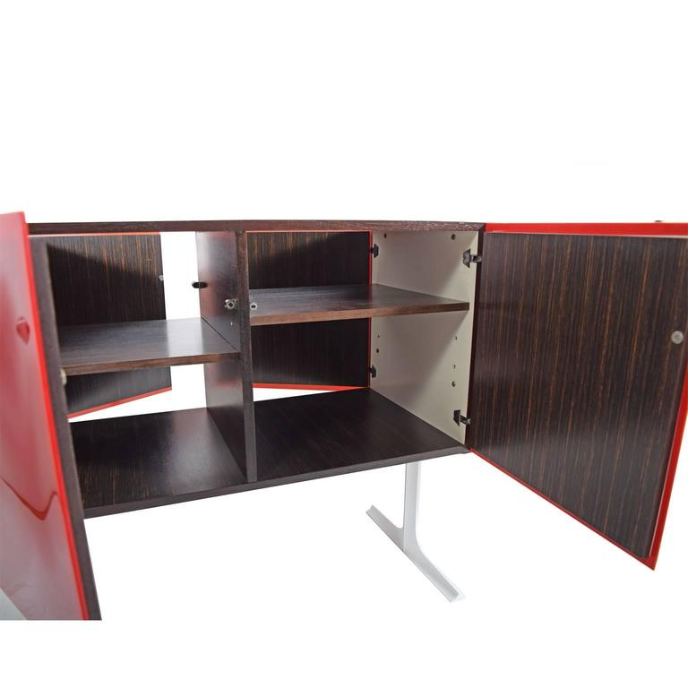 Two Sided Raymond Loewy Bar Cabinet DF 2000 For Sale 2