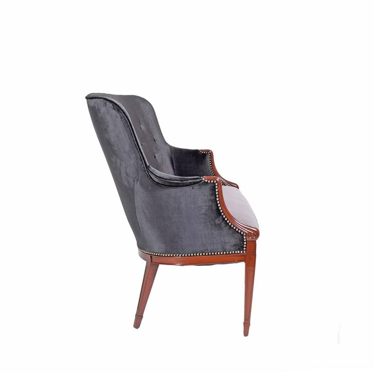 Mid-20th Century Frits Henningsen 1940s Settee For Sale