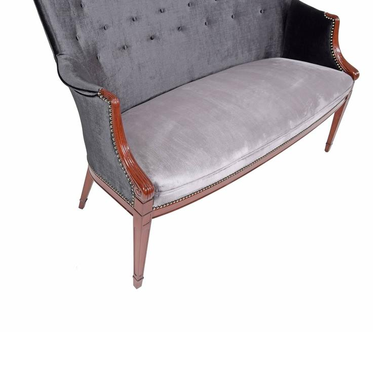 Frits Henningsen 1940s Settee In Good Condition For Sale In Dallas, TX