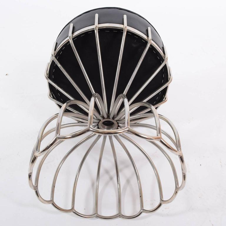 Post-Modern French Stool from 1970s For Sale