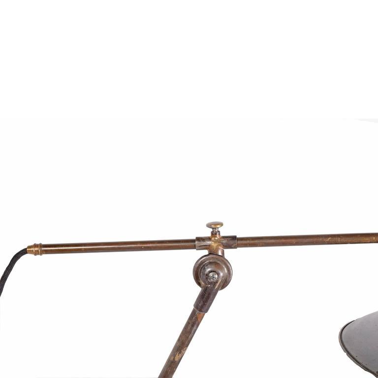 Danish Reading Lamp by Poul Henningsen for Louis Poulsen For Sale