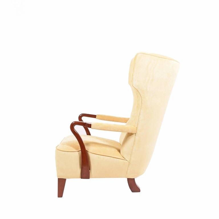 Rare 1938 Large Easy Chair by Bertil Söderberg 2
